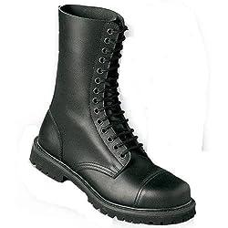 Undercover - 14 Loch Stiefel Boots Schwarz Größe 45 (UK11)