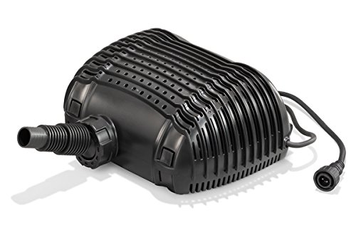 Solar Ersatzpumpe Waterfall 12-18V DC max. 3400 l/h Förderleistung Bachlauf Teichpumpe Gartenteich 101981
