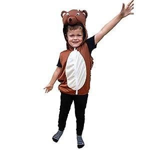 Bodysocks® Disfraz de Erizo para Niños