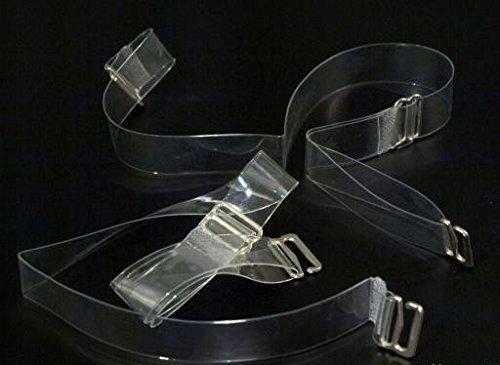 Miss Perfect Accessoires BH Träger transparent durchsichtig Ersatzträger Silikon