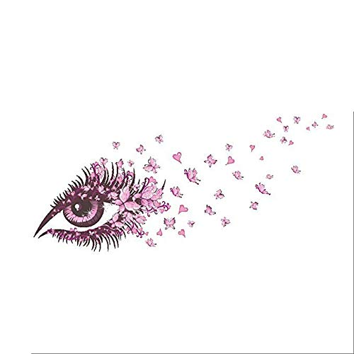 Sprießen 135 x 65CM Kreative Rosa Wandaufkleber,