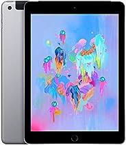 Apple iPad 9.7 (6e Génération) 128Go Wi-Fi + Cellular - Gris Sideral - Debloque (Reconditionne)
