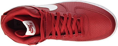 Nike Air Force 1 High '07, Baskets Homme Rouge (Gym Red/White/White)