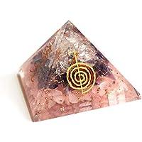 Reiki Healing Energy Charged Amethyst, Rosenquarz und klarer Quarzkristall Chip, Reiki-Gravur, Orgon-Pyramide... preisvergleich bei billige-tabletten.eu