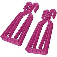 Soporte para esquís y bastones KlipSki de color rosa y) (2 unidades de uso fácil y rápida, a los expertos como para bebé