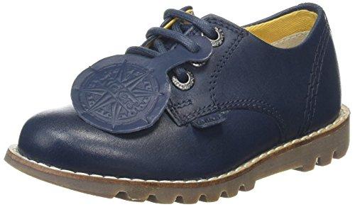 Kickers Baby Jungen Kymbo Lace Sneaker, Blau (Navy), 27 EU (Crocs Nike)