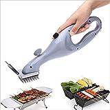 SSXD Spazzola Originale per Barbecue con griglia a Carbone per Barbecue, pulitore con Accessori per Cottura a Vapore oa Gas (Color : White)