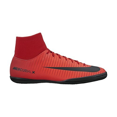 Nike Herren MercurialX Victory VI DF IC Fußballschuhe, Rot (Universität), 45 - Nike Skate-schuhe Rot