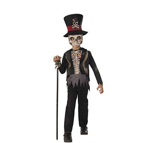 Haunted House Kostüm Voodoo Boy Inf, Mehrfarbig (Rubies 700468-M) (Voodoo Child Kostüm)