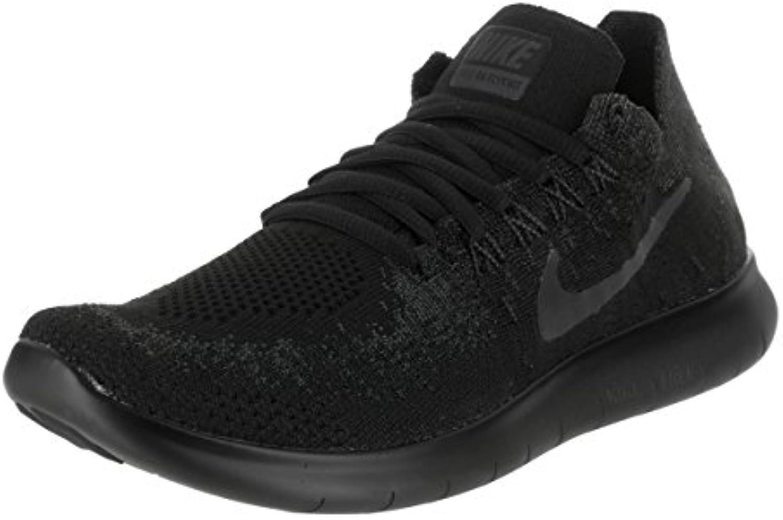 Nike - Free RN Flyknit 2017-880844010 - El Color: Negro - Talla: 40.0