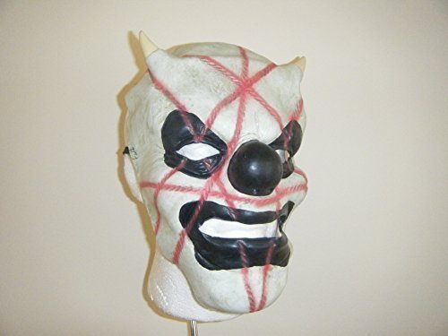 Kostüme Slipknot (Marke New Latex – Shawn crahan Clown Slipknot Maske Fancy Dress Up Head)