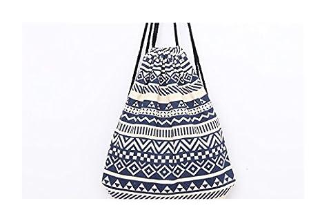 Strandtaschen Damenhandtaschen, Beutel Turnbeutel Tasche, Tüte Rucksack Hipster Jutebeutel, Reisen Wandern Arabisch Stil