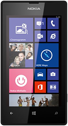 tphone (10,1 cm (4,0 Zoll) WVGA IPS Touchscreen, 5,0 Megapixel Autofokus-Kamera, 1,0 GHz Dual-Core-Prozessor, Windows Phone 8) schwarz ()