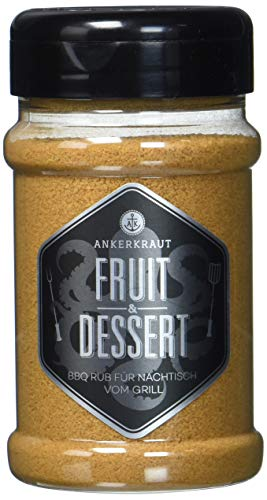 Fruit & Dessert, Rub im Streuer, 270 Gramm