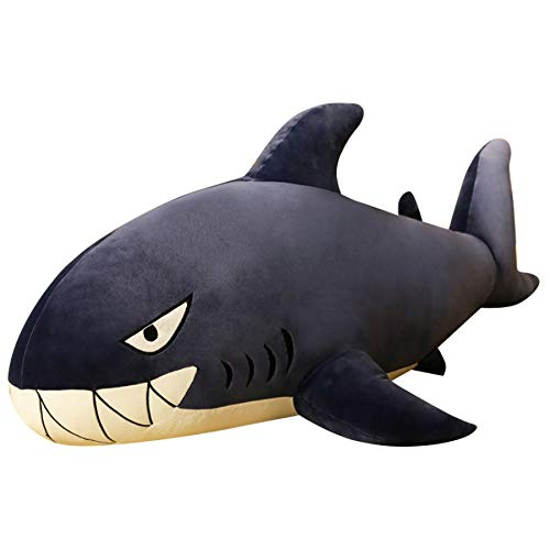 schtiere Gefüllte Haie Kinder Kinderspielzeug Jungen Kissen Mädchen Tier Kissen für Geburtstagsgeschenke 60cm 1St ()