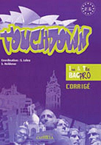TouchDown Anglais 1e & Tle Bac Pro