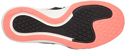 Nike Wmns Dual Fusion Tr Hit, Scarpe Sportive Indoor Donna Nero (Black/Lava Glow/Dk Grey/Pale Grey)