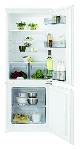 AEG SCB41411LS Einbau Kühl-Gefrier-Kombination mit Gefrierteil unten / 160 l Kühlschrank / 57 l Gefrierschrank / pflegeleichter Kühlraum & LowFrost Gefrierfach / A+ / Einbau-Höhe: 144,6 cm / weiß