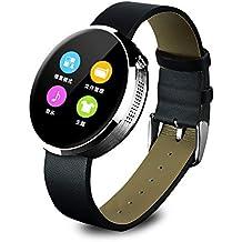Rasse® DM 360resistente al agua Bluetooth Smart Fitness entrenador & Tracker reloj inteligente para iPhone y Android Teléfono