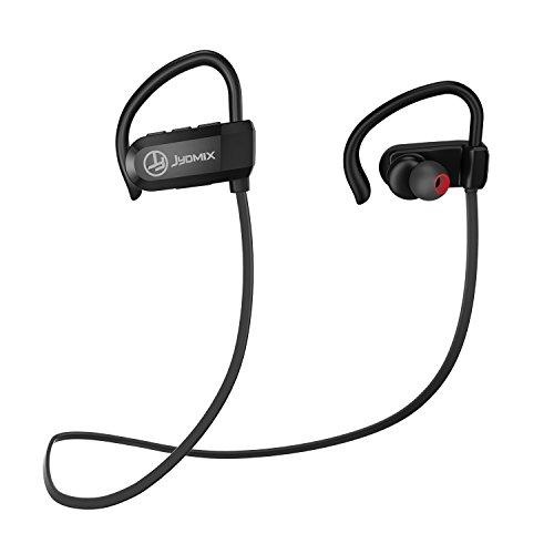 Bluetooth Kopfhörer JYDMIX 4.1 In Ear Sportkopfhörer mit Wasserschutzklasse IPX5, Kabellos Stereo Ohrhörer aptX mit Mikrofon, Geräuschunterdrückung, 7 Stunden-Spielzeit, Leichte, Siri-Aktivierung Freisprechen für IPhone Ipad Samsung und jedes andere Bloothooth-Gerät