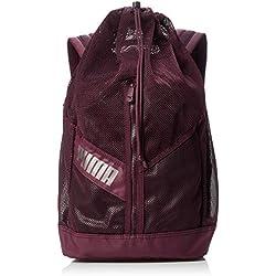 Puma Ambition Backpack Mochila, Color Fig-Bronze-Metallic, tamaño UA