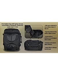Occasions Overnighter Bag With Laptop Storage (Convertible To Backpack / Briefcase)