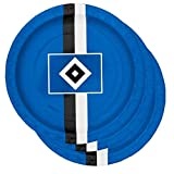 HSV Set Pappteller + Pappbecher Hamburger SV + gratis Sticker