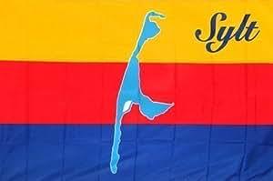 Deko-Fahne Flagge - Sylt - Gr. ca. 150x90 cm - 24091