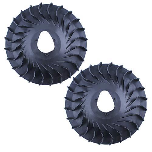 Haishine 2 teile/los motor schwungrad lüfter für honda gx200 gx160 gx 200 160 chinesische 168f 5.5/6.5hp motor 2KW 3KW generator wasserpumpen