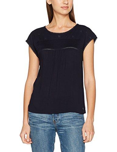s.Oliver Damen T-Shirt 14705323986 Blau (Navy 5959), 38