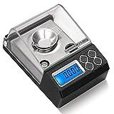 Mini Scale elettroniche bilance di precisione Be Gioielli applicabile Medicina materiali di diamanti multifunzionale Scales 2 batterie AAA (Capacità: 20g / 0.001g), Size: 30g / 0.001