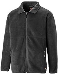 28874af6b53 Dickies Oakfield Fleece Jacket Mens Lightweight Durable Work JW83015