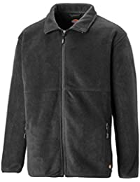 Dickies Oakfield Fleece Jacket Mens Lightweight Durable Work JW83015