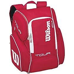 Wilson Tour V Backpack Large RD - Mochila, color rojo, talla única