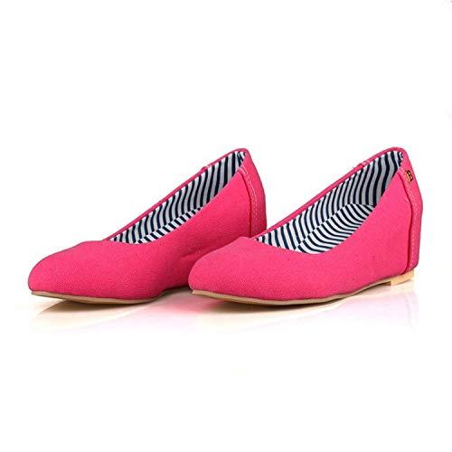MENGLTX High Heels Sandalen Oxford Schuhe Für Frauen Damenschuhe Wohnungen Mokassins Damen Loafers 3189 11 Rot