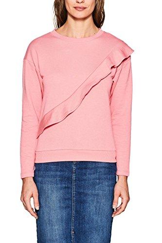 ESPRIT Damen Sweatshirt 127EE1J003, Rosa (Pink 670), X-Large