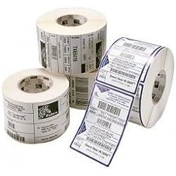Zebra Z-Perform 1000D - Etiquetas de impresora (Permanent Adhesive, Papel, Térmica directa, 76mm x 51mm, 7,6 cm, 18600 pieza(s))