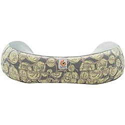 Housse pour coussin d'allaitement porte-bébé Ergobaby original courbe naturelle Tourbillon (Jaune)