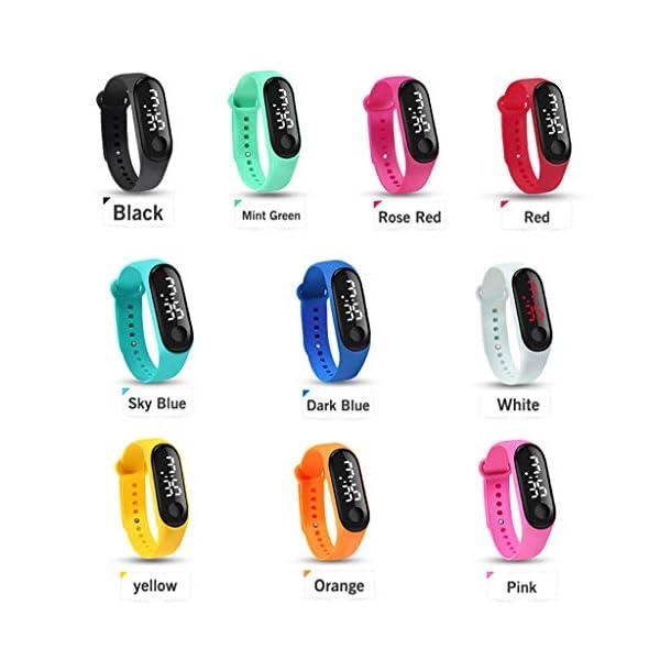Homyl Smartwatch Mujer Android/Relojes Mujer Inteligente/Pantalla a Color IPS De 0,96 Pulgadas/Resistente Al Agua: IP67 5