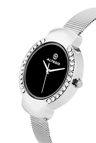 Altedo Analog Black Dial Women's Watch - Eternal Series