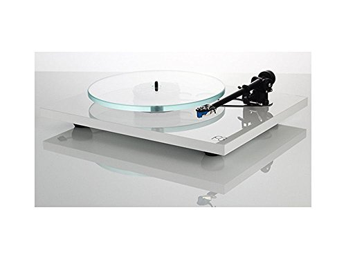 Rega Planar 3 (Modelo 2016) High End – Tocadiscos con Rega Elys 2 mm de pastilla, color blanco