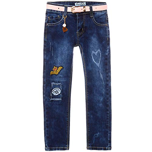 BEZLIT Mädchen Jeans Hose Stretch Kinder Girls Röhre Super Skinny Jeggings  Hosen 21382 Blau Größe 128 f07317339a