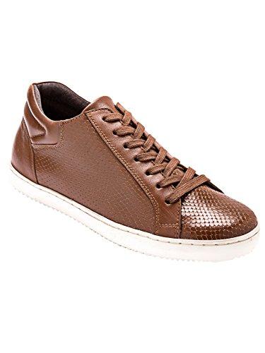 Balsamik - Sneakers con zeppa in pelle - - Size : 37 - Colour : Marrone