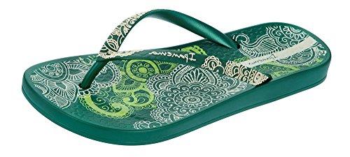 Ipanema Anat Lovely, Tongs Femme green