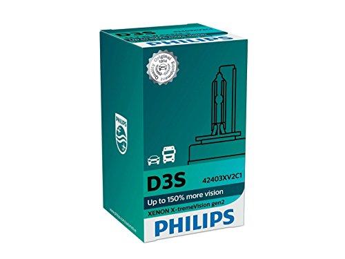 Preisvergleich Produktbild Philips Xenon X-TremeVision D3S GEN2 bis zu 150% mehr Sicht Xenon-Brenner 42403XV2C1