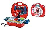PlayGo Tragbare Werkbank im Koffer mit Spielwerkzeug 15 TLG
