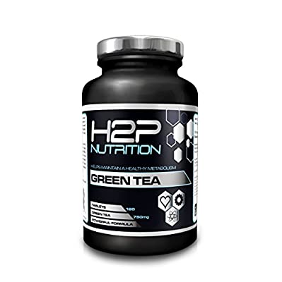 ?Green Tea Tablets By H2P Nutrition / High Strength / Increase Metabolic Rate / Assists With Weight Loss / 120 Servings Per Pot / Suitable For Men And Women / UK Manufactured from H2P Nutrition