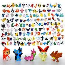 By channeltoys - Lot de 24 mini figurine Pokemon (pas de double) - 2 à 3 cm - mini figures salameche tortank pikachu bulbizarre - PVC rigide - Nouveauté 2016 by channeltoys