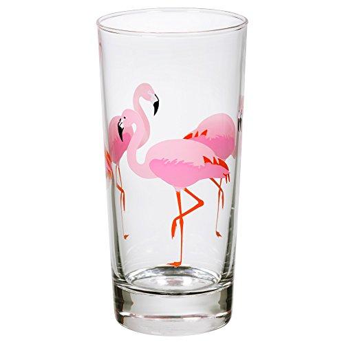 IKEA SOMMARFINT - Glas Flamingo