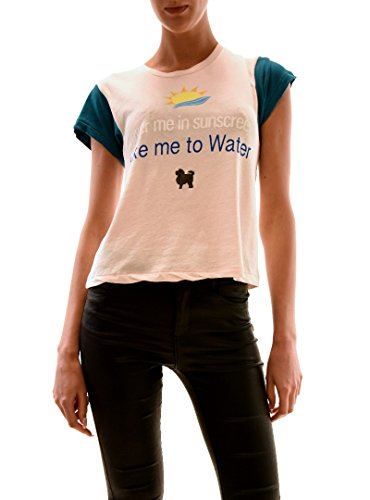 wildfox-femme-take-me-to-water-top-tee-chapstick-rose-taille-xs